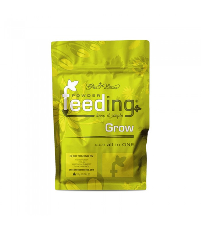 Green House Powder Feeding – Grow 1kg