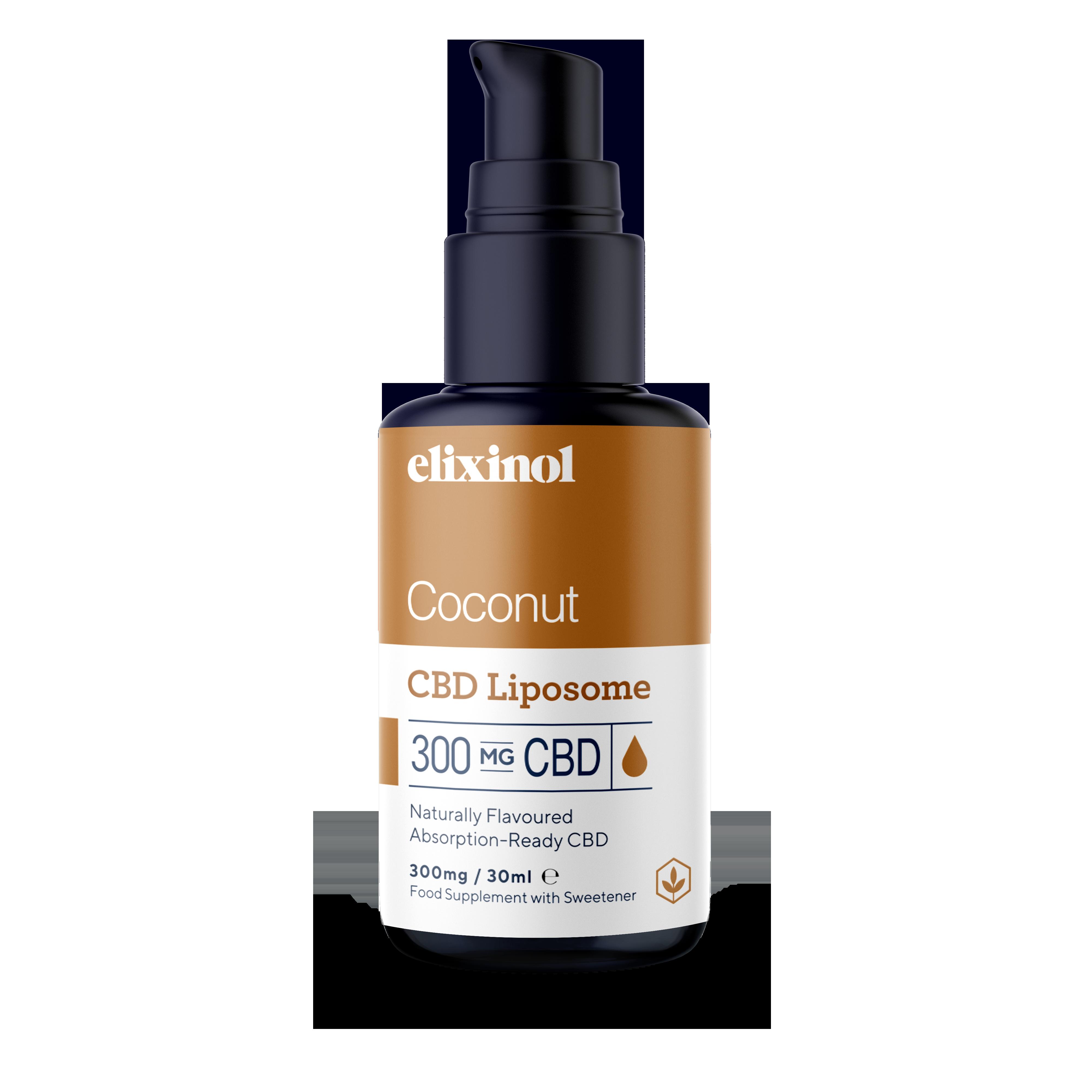 Hemp Oil Liposomes 300mg - Coconut