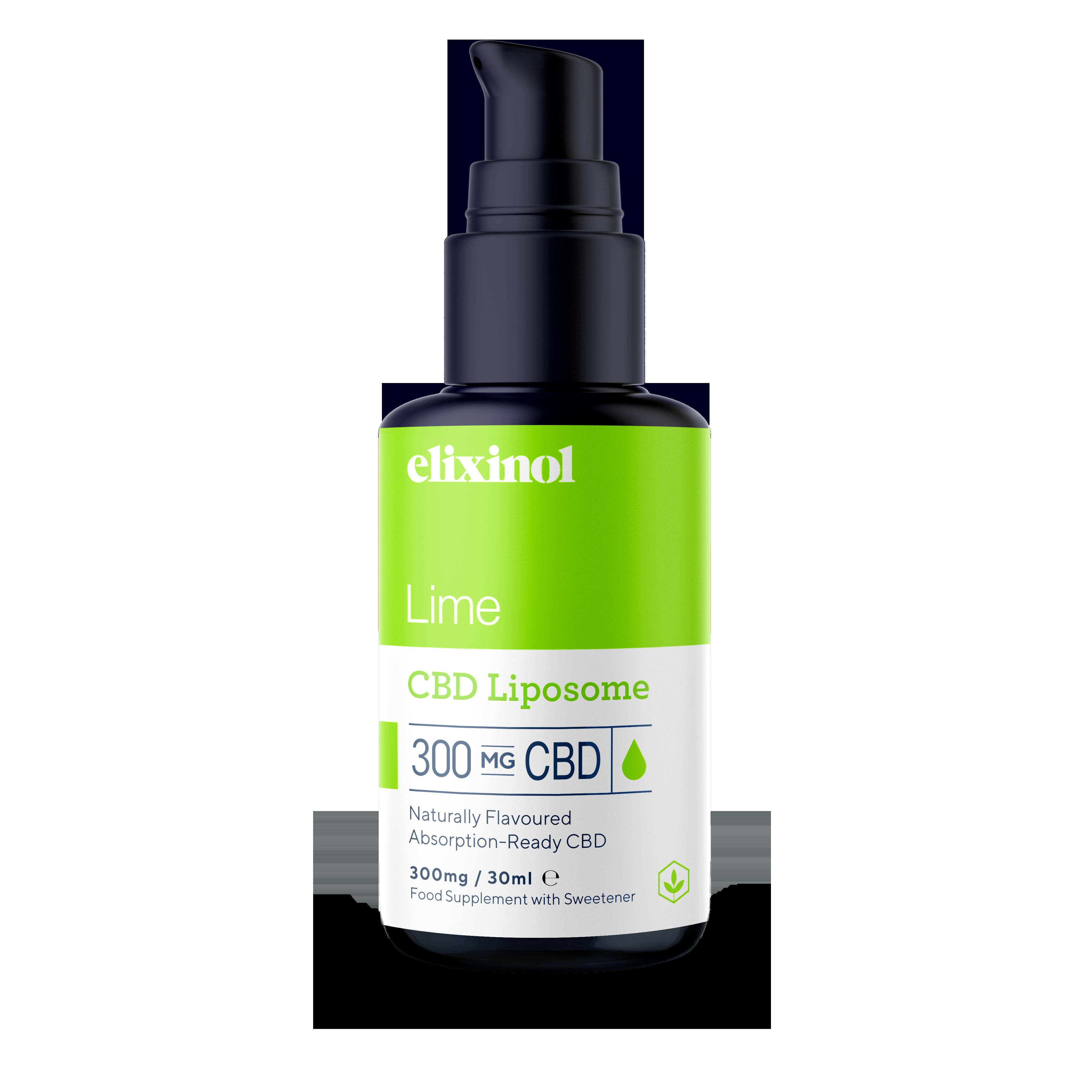 Hemp Oil Liposomes 300mg - Lime