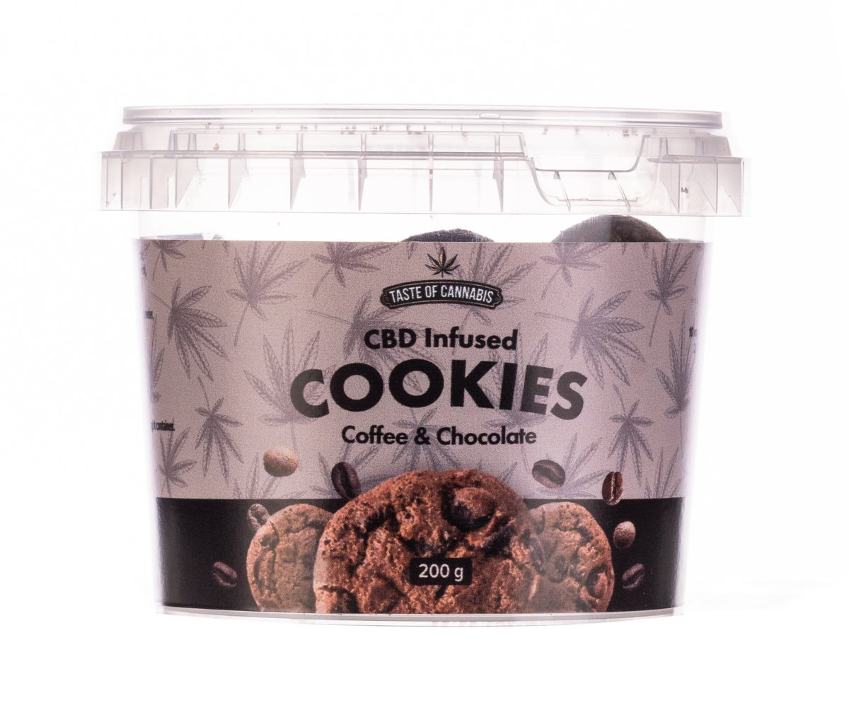 Coffee & Chocolate CBD Cookies Gluten Free - 150mg
