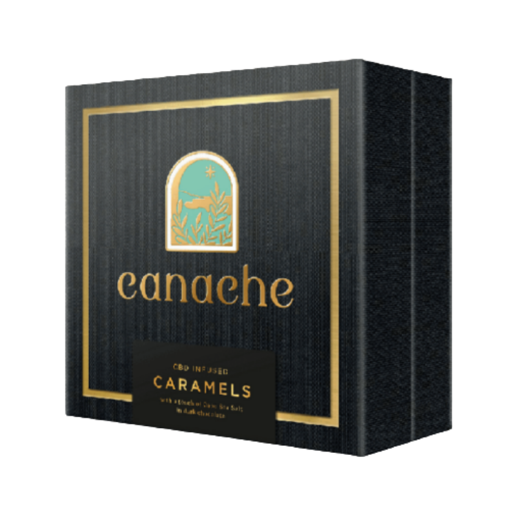 Canache CBD Infused Salted Caramels